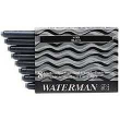 Waterman Negro. Cartuchos Pluma