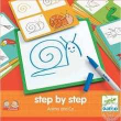 Djeco. Eduludo Step by Step Animals and Co (38319)