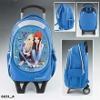 Top Model 17. Mochila Carro Friends Azul (6631)