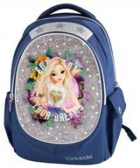 Top Model 18. Mochila Doble Azul 8869