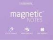 Tesla. Magnetic Notes M Pearl