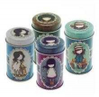 Gorjuss. Set de 4 latas