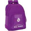 Real Madrid Morado 16. Mochila Doble (611677773)