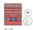 Katacrak Boho Chic 17. Notebook A4 (117107)