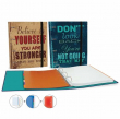 Happy Quotes 16. Carpeta Ringbook 4 Anillas (34046)