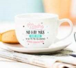 Mr. Wonderful. Taza y plato