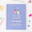 Mr. Wonderful. Libreta A4