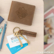 Mr. Wonderful. Pack para padres que valen su peso en oro Cartera + Llavero