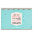 Mr. Wonderful. Calendario Scrapbooking 2018