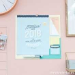 Mr. Wonderful. Calendario Familiar Pared 2018