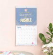 Mr. Wonderful. Calendario Pared Adulto 2019