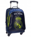 Real Madrid 16. Mochilla Trolley 4 Ruedas (5632852)