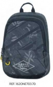 O'Neill Boys 17. Mochila Doble Negra (162ONE7037)