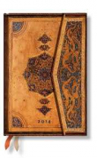Paperblanks. Agenda Safavid 2014 Mini (S/V) DS2365-4