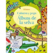 Coloreo y pego. Álbum de la selva