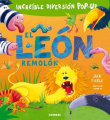 El león remolón (Pop-Up)