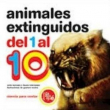 Animales extinguidos del 1 al 10
